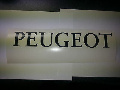 Peugeot Moped  Sticker Belly Pan Fairing Bike Motor Bike Decal Many Colours