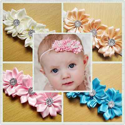 Wholesale 10pcs Flower Baby Toddler Girl Princess Headband Hair Band Headwear