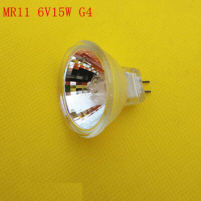 New 6V 15W Halogen Bulb With Dome For Microscopes Mr11