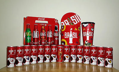 Coke FIFA WORLD CUP 2014 Aluminum Bottle, Cans, Bucket and Mug Thailand Limited