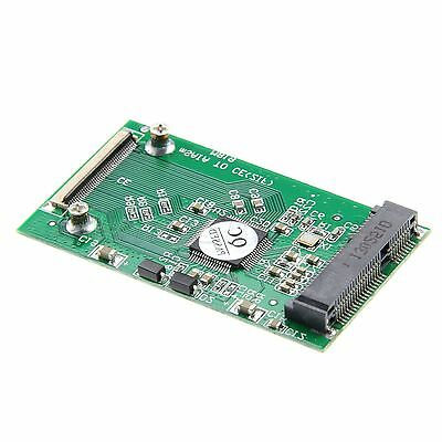 """New cable Adapter PCI-E MSATA 50MM 3.3V SSD to 1.8"""" CE/ZIF PATA 40pin"""