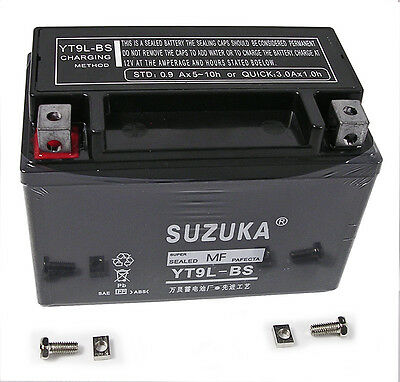 Motorcycle Battery for Suzuki GSX-R750 1999 pre filled with acid
