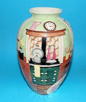 OLD TUPTON WARE pottery vase 'Country Kitchen'  BOXED (3702)