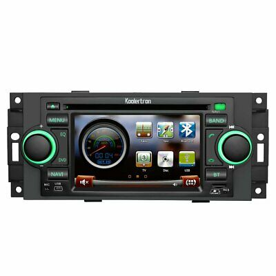US  Auto Stereo GPS Satnav DVD Radio for Jeep Cherokee Commander Compass Patriot