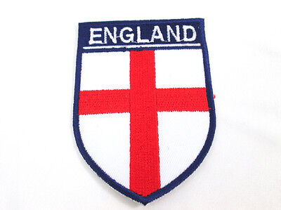 Iron On Applique Union Jack British Flag Embroidered Patch/Patriotic Sewing
