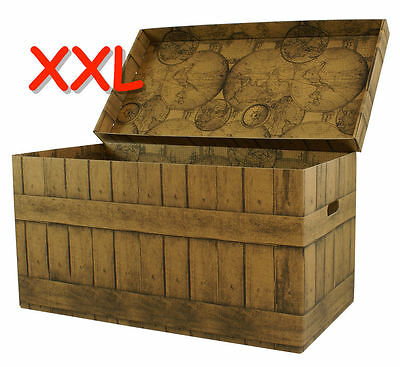 aufbewahrungs box mit deckel purenature kiste karton schachtel eur 5 95 picclick de. Black Bedroom Furniture Sets. Home Design Ideas