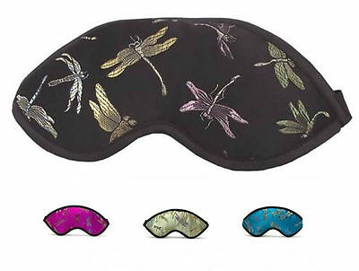 Kimono Kollection Deluxe Satin Gardenia Scented EYE MASK SLEEP MASK