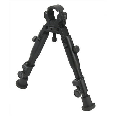 """6.5"""" CCOP Badger Tactical Hunting Clamp-On Bipod 39MINI"""