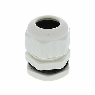 Brand New Pro Power 21-14360 M25 Cable Gland White 1/2 ~ 11/16 Inch Cable Dia