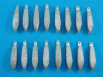 16 x 1 Oz SNAPPER SINKERS, SINKER BOATING FISHING TACKLE PROFESSIONAL MADE