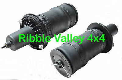 Land Rover Range Rover P38 Front Suspension Air Bag Pair Reb101740 + Clips Pins