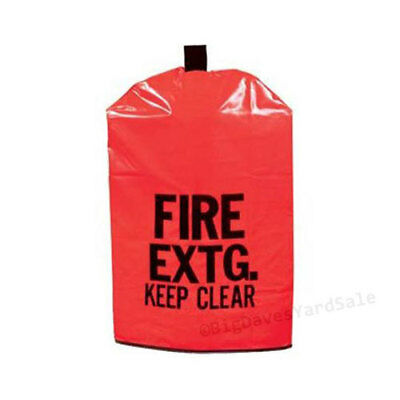 "FIRE EXTINGUISHER COVER (NO Window) for 10 to 20lb. Extg. Medium 25"" x 16 1/2"""