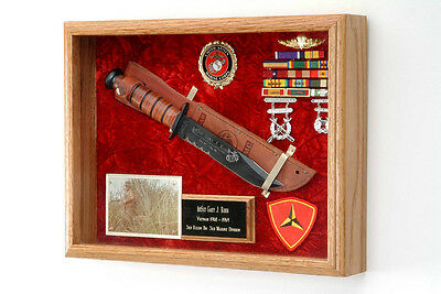 KA-Bar Knife, Combat Knife or Pistol Display Case