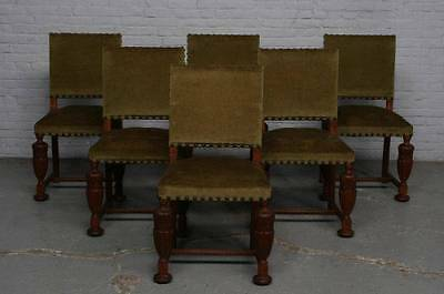 Very Nice Breughel Style Dining Room Set Of 6 Chairs - 14Be5422C