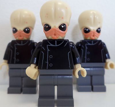 LEGO Star Wars Bith Musician Lot of 3 - Brand New - 75052 Minifigure Minifig