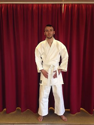 Karate Suit White Gi Uniform Martial Arts New Cotton Training Kimono Tai-Gi Wear