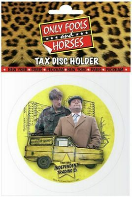 Only Fools and Horses Car Tax Disk Holder OFFICIAL Collectable