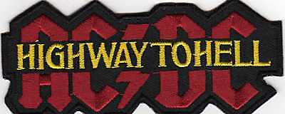 Acdc Bon Scott Highway To Hell Rare Iron On Patch  Buy 2 We Send 3