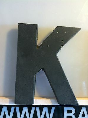 Vintage Movie Theatre Marquee Letters-9 Inch Metal with Hooked Back (Red & BLK)