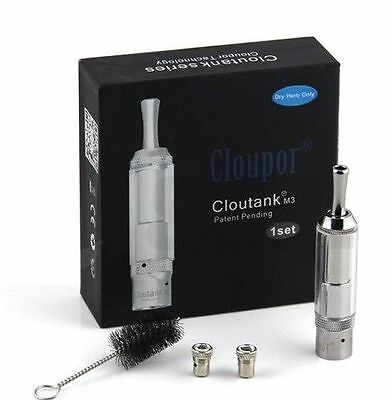 Cloupor Cloutank M3 2 in 1 Vaporizer Tank Atomizer -Brand New & 100% Authentic
