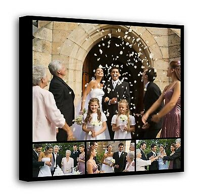 Personalised Framed Canvas Collage Print Photo Image Picture - Ready to hang f11