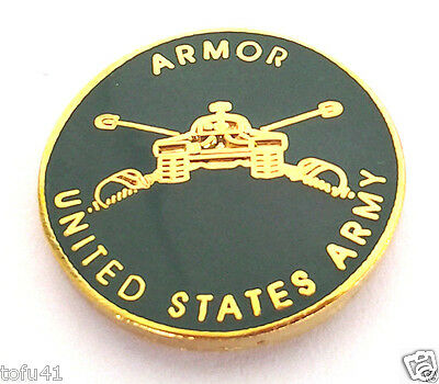 ARMOR UNITED STATES ARMY  Military Veteran US ARMY Hat Pin 14478 HO  SMALL