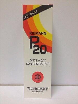 Riemann P20 Once a Day Sun Protection Spray (SPF30&50) or Lotion(SPF20) 100ml