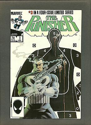 Punisher Limited Series #3 VF+ Mike Zeck