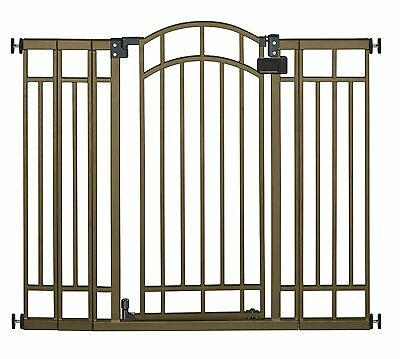 NEW  Summer Infant Multi-Use Deco Extra Tall Walk-Thru Gate Bronze