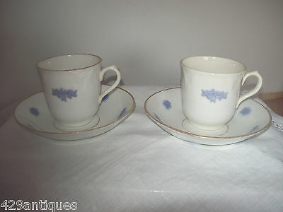 Foley China art deco tea set cups and saucers J Goodwin Stoddard & co