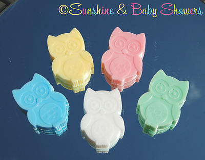 5 BABY OWL SOAPS Gorgeous Baby Shower Favours Game Prizes Gift Boy Girl Neutral