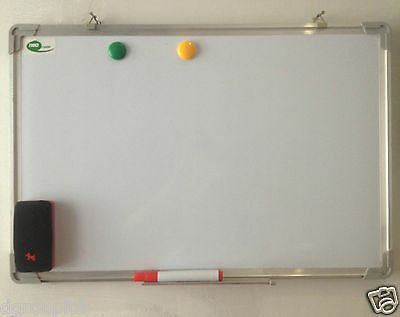 Dry Magnetic Whiteboard Notice Board Free Marker Pens Eraser Accessories