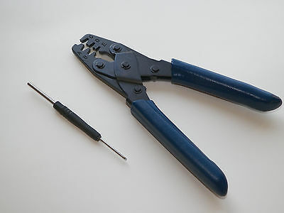 Crimper + Pic Tool For Oem Mate-N-Lock Some Weather Pac Pack Gm Delphi Packard