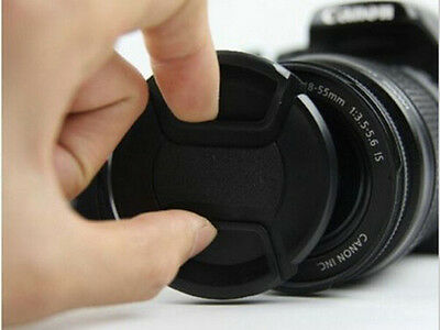10pcs 58mm Universal Snap-On Front Lens Cap for Canon Nikon Sony Sigma Pentax