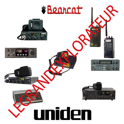 Ultimate Uniden Bearcat Repair Service & Operation Manuals   PDF manual s on DVD