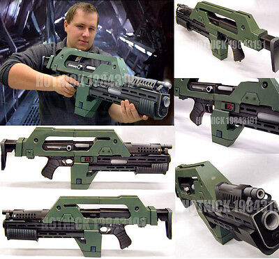 Aliens M41-A Pulse 1:1 Paper Model Assault Toy Cosplay Gift New