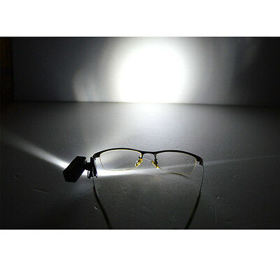SG 1 PC Clip-on LED Safety Flash for Glasses, Hats
