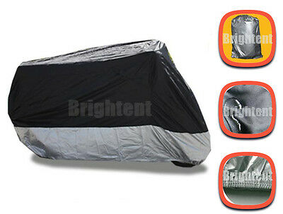 L265cm Motorcycle Cover Outdoor Water proof Cruisers Touring Bikes Covers WM3BS