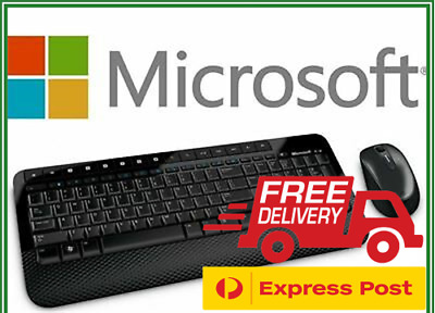 Microsoft Wireless Desktop 2000 Keyboard & Mouse USB Combo Windows MAC PC