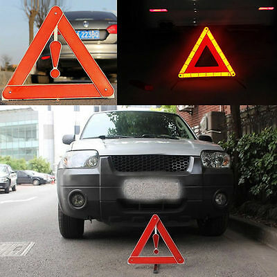 Car Foldable Warning Triangle Sign Safety Reflective Emergency Warn Frame New