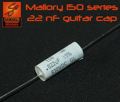 22 nF MALLORY 150 SERIES CAP FOR GUITAR CAPACITOR UPGRADE
