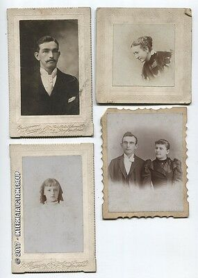 Vintage Photos Collection Of Portraits.  Early 20Th Century.