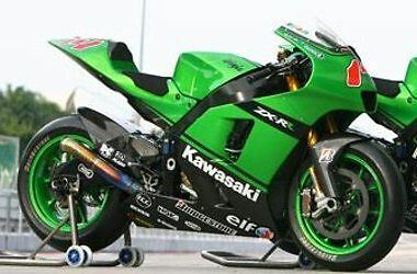 "Aufkleber-Set ""kawa 2007""-Replica Moto Gp"