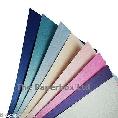 A4 Pearlescent Shimmer Craft Paper, double sided, choice of colour & pack size
