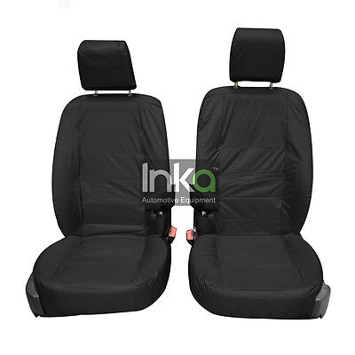 Land Rover Discovery 4 DVD Front Inka Tailored Waterproof Seat Covers Black