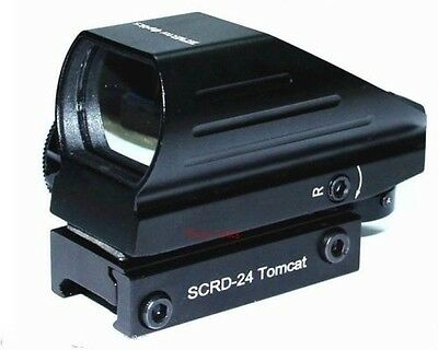 Tomcat SCRD-24 Red Green Dot Multi Reticle Sight, Very Compact! Vector Optics