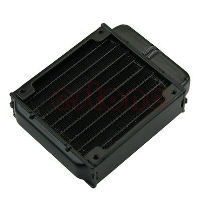 80mm Aluminum Computer Radiator Water Cooling Cooler for CPU LED Heatsink New