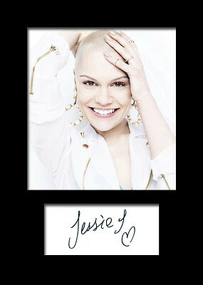JESSIE J Signed Photo Print A5 Mounted Photo Print - FREE DELIVERY