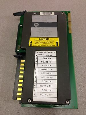 Used Allen-Bradley Plc-5 Power Contact Output Module 1771-Ox