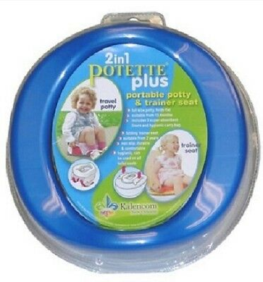 Potette Plus Travel Potty and Trainer Seat by Kalencom
